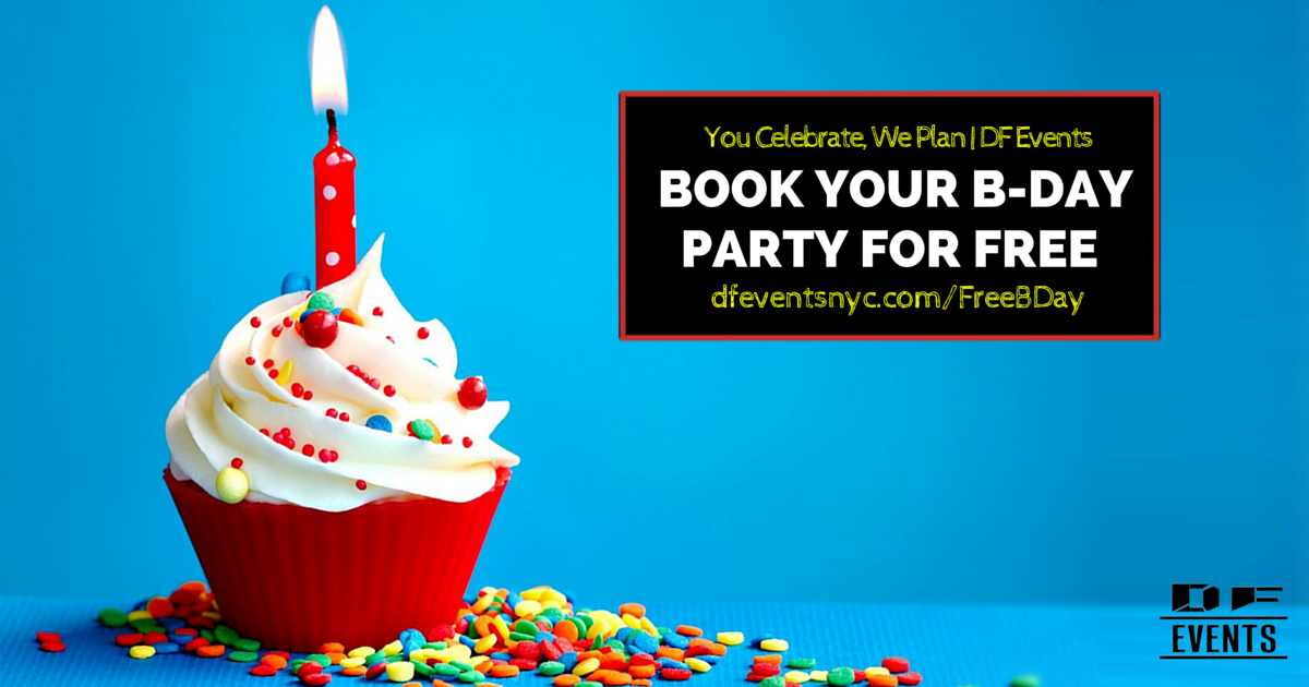 Book Your Birthday Party For Free