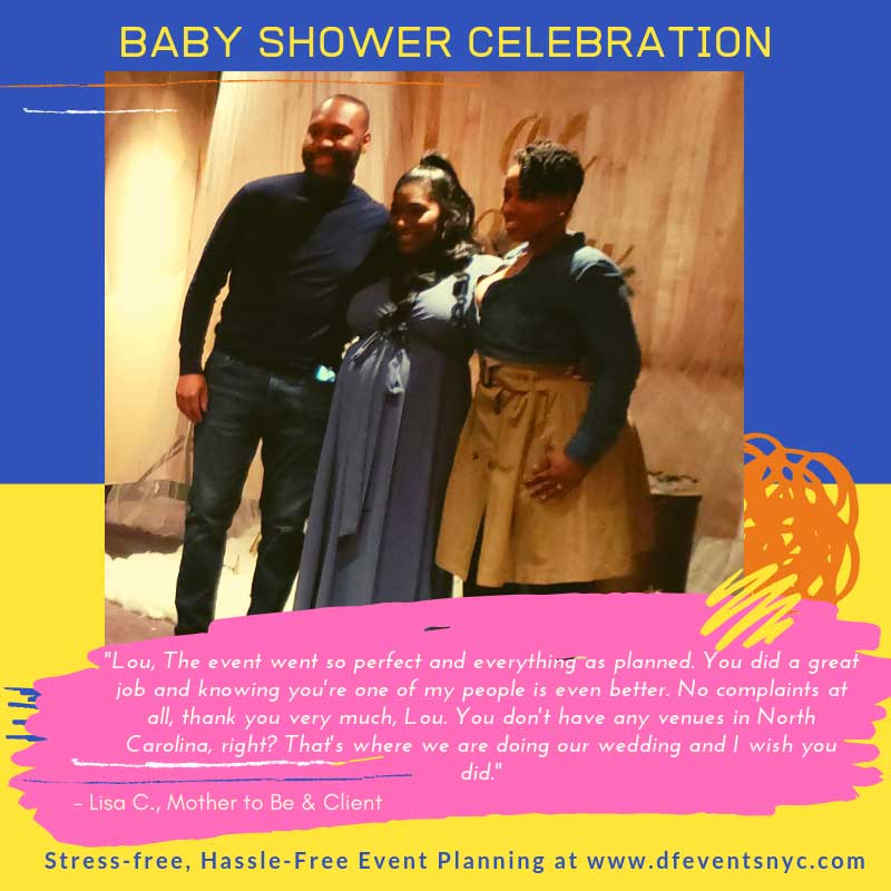 Testimonial: Baby Shower - Df Events